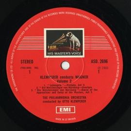 GB EMI ASD2696 オットー・クレンペラー ワーグナー・管…