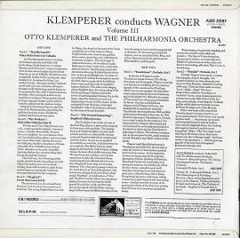 GB EMI ASD2697 オットー・クレンペラー ワーグナー・管…