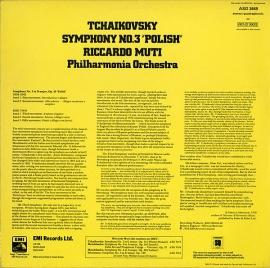 GB EMI ASD3449 リッカルド・ムーティ チャイコフスキー…
