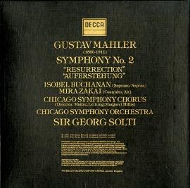 NL DEC D229D2  ゲオルク・ショルティ マーラー・交響曲…