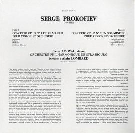 FR ERATO STU70866 ピエール・アモイヤル プロコフィ…