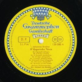 DE DGG SLPM138 119 ヘルベルト・フォン・カラヤン …