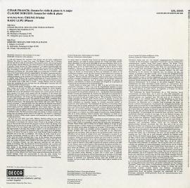 NL DEC SXL6944 チョン・キョンファ フランク&…