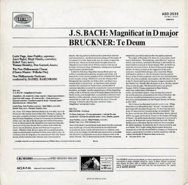 GB EMI ASD2533 ダニエル・バレンボイム バッハ「マニフ…