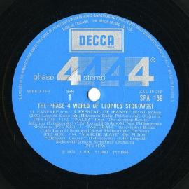 GB DEC SPA159 レオポルド・ストコフスキー チャイコフス…