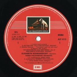 GB EMI RLS763 エリーザベト・シュヴァルツコップ 歌曲集…
