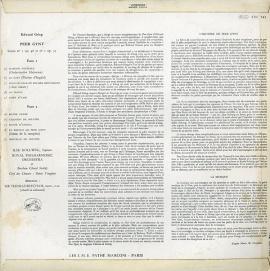 FR EMI CVC742 ビーチャム グリーグ「ペール・ギュント」