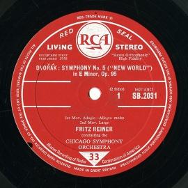 GB RCA SB2031 ライナー ドヴォルザーク・交響曲9(5)…