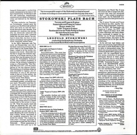 US SERAPHIM S-60235 ストコフスキー バッハ・管弦…