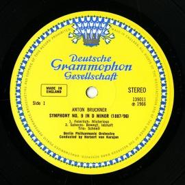 GB DGG SLPM139 011 カラヤン ブルックナー・交響曲…