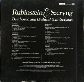 GB RCA SER5701/02/03 ルービンシュタイン&シェリ…