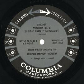 US COL M2S 622 ワルター ブルックナー・交響曲4番「ロ…