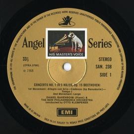 GB EMI SAN238-241 バレンボイム&クレンペラー ベー…