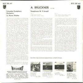 NL PHIL 835 561 ブルーノ・ワルター ブルックナー・交…