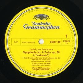 DE DGG 2530 142 ベーム ベートーヴェン・交響曲6番「…