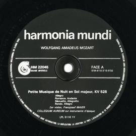 FR HARMONIA HM22045 コレギウム・アウレウム合奏団…