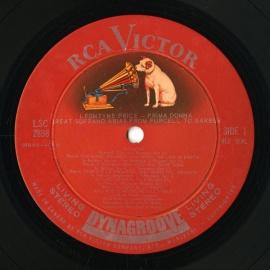 CA RCA LSC2898 レオンティン・プライス 「プリマ・ドン…