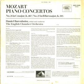 GB EMI ASD2465 バレンボイム モーツァルト・ピアノ協奏…