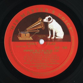 GB EMI ALP1536 ビーチャム モーツァルト・交響曲41番…