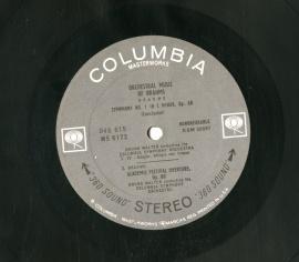 US COL D4S615 ワルター ブラームス 交響曲1-4番&a…