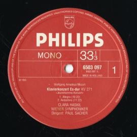 NL PHIL 6768 366 ハスキル モーツァルト・ピアノソナ…