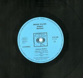 GB CBS S72 ワルター・コロムビア響 ブラームス 交響曲&a…