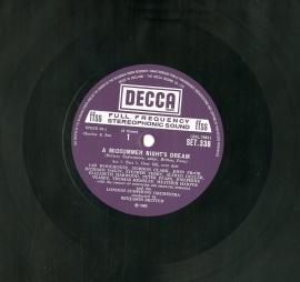 GB DEC SET340 ブリテン・ロンドン響 自作 真夏の夜の夢…