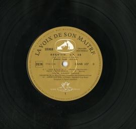 FR VSM CAN107 クリュイタンス・パリ音楽院 フォーレ レ…