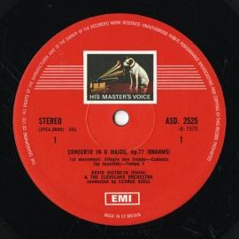 GB EMI ASD2525-2526 オイストラフ、ロストロポーヴ…