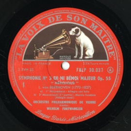 FR VSM FALP30037 フルトヴェングラー ベートーヴェン…