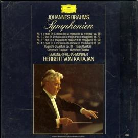 DE DGG 2740 193 カラヤン ブラームス・交響曲全集