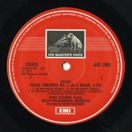 GB EMI ASD2988 オイストラフ モーツァルト・ヴァイオリ…
