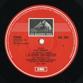 GB EMI ASD2924 トルトゥリエ ウォルトン/ショスタコー…