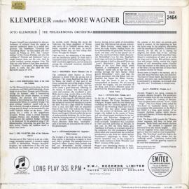 GB COL SAX2464 クレンペラー ワーグナー・管弦楽曲集