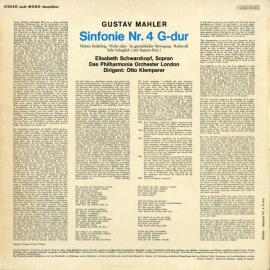 DE EMI C063-00553 クレンペラー マーラー・交響曲4番