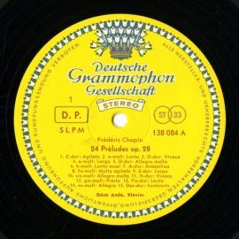 DE DGG SLPM138 084 アンダ・ゲーザ ショパン・前奏…