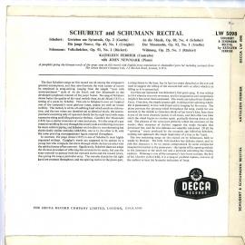 GB DEC LW5098 キャスリーン・フェリア SCHUBERT…