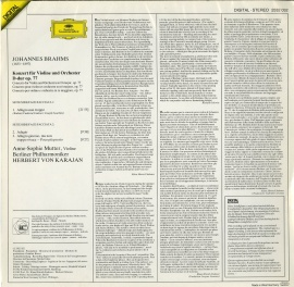 DE DGG 2532 032 ムター・カラヤン・ベルリンフィル ブ…