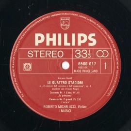 NL PHIL 6500 017 イ・ムジチ合奏団 ヴィヴァルディ:…