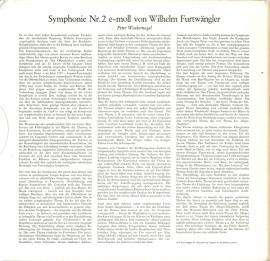 DE DGG LPM18 114-5 フルトヴェングラー 自作・交響…