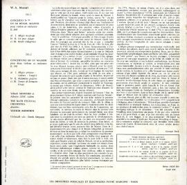 FR VSM FALP830 メニューイン モーツァルト・ヴァイオリ…