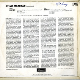 GB BRUNSWICK SXA4543 マーロウ ハイドン・ピアノ…