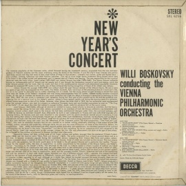 GB DEC SXL6256 ボスコフスキー New Year's …