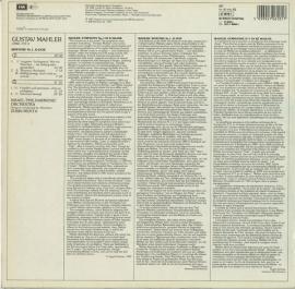 DE EMI 27 0618 1 ズービン・メータ マーラー・交響曲…