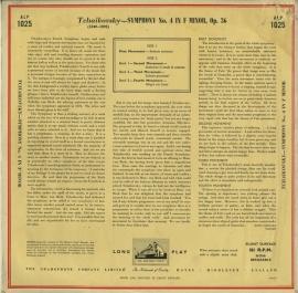 GB EMI ALP1025 フルトヴェングラー チャイコフスキー・…