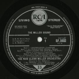 GB RCA SF5032 レイ・マッキンリー THE MILLER…
