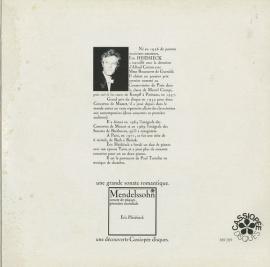 FR CASS 369 209 ハイドシェク ヘンデル・組曲9・11…