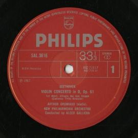 GB PHIL SAL3616 グルミュオー ベートーヴェン・ヴァイ…