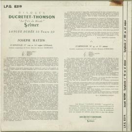 FR DT LPG8319 シェルヘン ハイドン・交響曲95番/10…