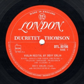 GB 	LON(DUCRETET THOMSON) 	DTL9310…